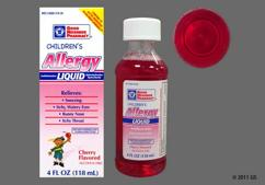 red - GNP Children's Allergy Liquid (Cherry)