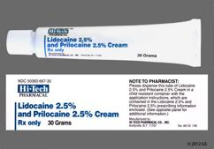 Emla Coupon - Emla 30g of 2.5%/2.5% tube of cream
