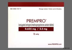 Peach Oval Package Prempro 0.625/2.5 - Prempro 0.625mg-2.5mg Tablet
