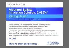 Albuterol Coupon - Albuterol 3ml of 2.5mg/3ml vial