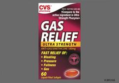 orange - CVS Gas Relief 180mg Ultra Strength Softgel