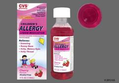 Children's Benadryl Coupon - Children's Benadryl 12.5mg/5ml bottle of oral solution
