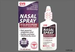 colorless - CVS Extra Moisturizing 0.05% Nasal Spray