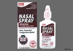 colorless - CVS 12-Hour 0.05% Nasal Spray