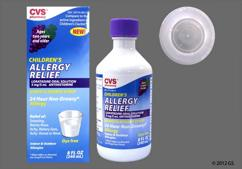 colorless - CVS Children's Allergy Relief 5mg/5mL Solution (Grape)