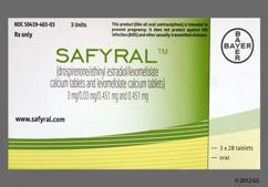 Safyral Coupon - Safyral 28 tablets package