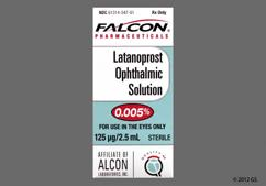 Latanoprost Coupon - Latanoprost 2.5ml of 0.005% eye dropper