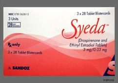 Syeda Coupon - Syeda 28 tablets of 3mg/0.03mg package
