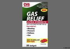 Orange S 180 - CVS Gas Relief 180mg Ultra Strength Softgel