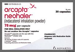 Arcapta Coupon - Arcapta 30 capsules of 75mcg inhaler
