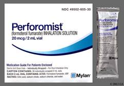 Perforomist Coupon - Perforomist 2ml of 20mcg/2ml vial