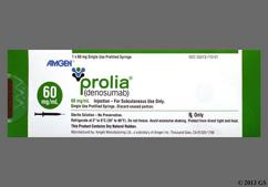 yellow - Prolia 60mg/ml Solution for Injection