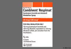 Combivent Coupon - Combivent 120 doses of 20mcg/100mcg respimat inhaler
