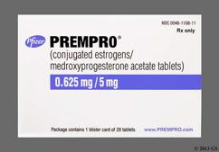 Blue Oval Package Prempro 0.625/5 - Prempro 0.625mg-5mg Tablet