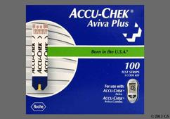 colorless - Accu-Chek Aviva Plus Test Strip