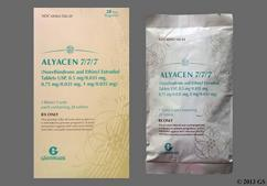 Alyacen 7/7/7 Coupon - Alyacen 7/7/7 28 tablets package