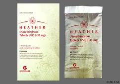 Heather Coupon - Heather 28 tablets of 0.35mg package