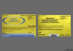 Green Round Package 93 And 743 - Myzilra 28-Day Tablet