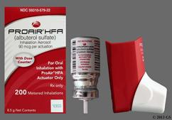 Proair HFA Coupon - Proair HFA 8.5g of 90mcg inhaler