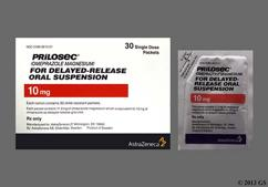 Prilosec Coupon - Prilosec 30-packets-of-10mg package