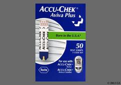 Accu-Chek Coupon - Accu-Chek Aviva Plus test strip