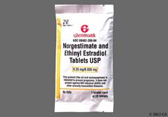 Green Round A2 - Norgestimate/Ethinyl Estradiol 0.25mg-0.035mg 28-Day Tablet