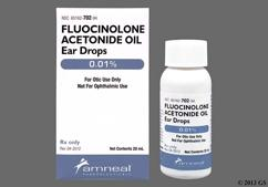 Fluocinolone Coupon - Fluocinolone 20ml of 0.01% ear dropper