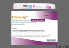 yellow - Otrexup 10mg/0.4ml Solution for Injection