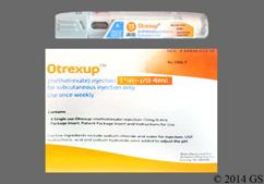 Otrexup Coupon - Otrexup 4 injections of 15mg/0.4ml package