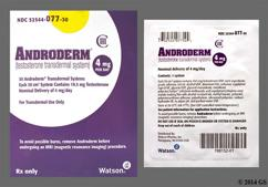 Androderm Coupon - Androderm 30 patches of 4mg per day carton