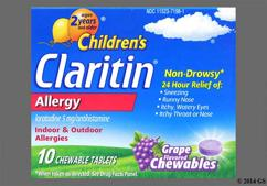 Children's Claritin Coupon - Children's Claritin 24 hour chewable tablet