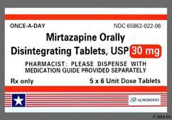 Mirtazapine Coupon - Mirtazapine 30mg orally disintegrating tab