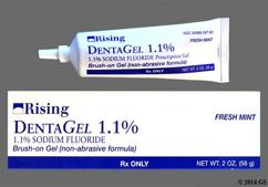 Dentagel Coupon - Dentagel 56g of 1.1% tube of gel