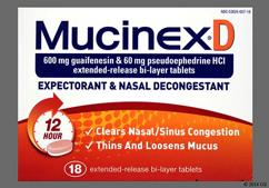 Mucinex D Coupon - Mucinex D 600mg/60mg tablet