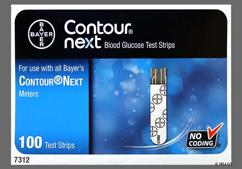 Bayer Contour Next Coupon - Bayer Contour Next test strip