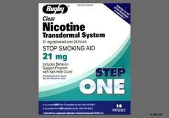 Nicotine Coupon - Nicotine 21mg patch