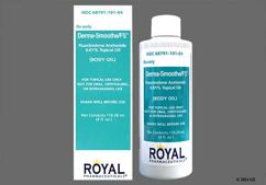 Derma Smooth Fs Body Oil Images And Labels Goodrx