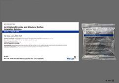 colorless - Ipratropium Bromide/Albuterol Sulfate 0.5mg-3mg/3ml Solution for Inhalation