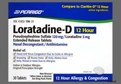 Claritin-D Coupon - Claritin-D 12 hour tablet