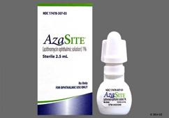 Azasite Coupon - Azasite 2.5ml of 1% eye dropper