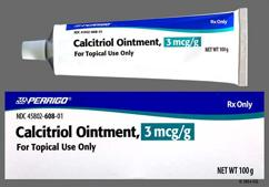 white - Calcitriol 3mcg/g Topical Ointment