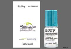 Rescula Coupon - Rescula 5ml of 0.15% eye dropper