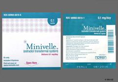 Minivelle Coupon - Minivelle 8 patches of 0.1mg package