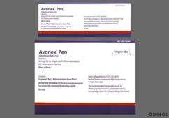 colorless - Avonex Pen 30mcg/0.5ml Autoinjector Solution for Injection