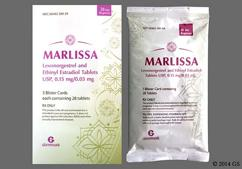 Marlissa Coupon - Marlissa 28 tablets of 0.15mg/0.03mg package