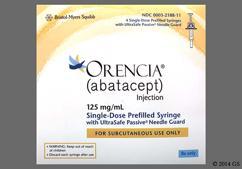 Orencia Coupon - Orencia 4 syringes of 125mg/ml carton