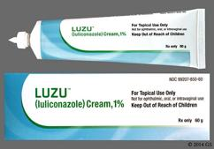 white - LUZU 1% Topical Cream