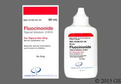 yellow - Fluocinonide 0.05% Topical Solution