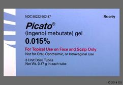 Picato Coupon - Picato 3 tubes of 0.015% carton