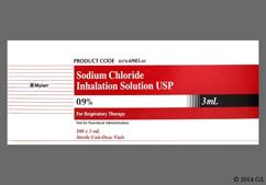 Sodium Chloride Coupon - Sodium Chloride 3ml of 0.9% vial